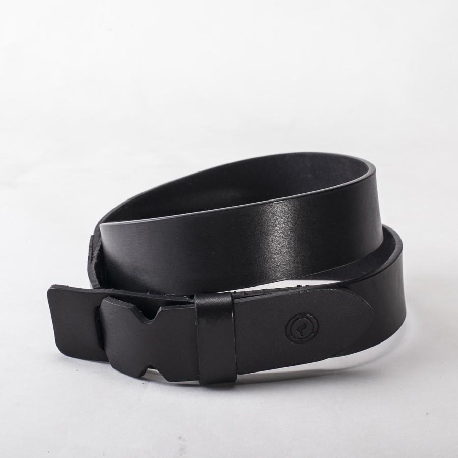 2f14bcd9a80 Cinturón cierre cuero negro